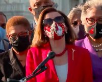 WATCH: Nutty Nancy Prays To George Floyd Thanks Him For 'Sacrificing His Life For Justice'