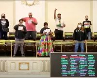 BLM Protesters Disrupt Capitol, Interrupt  Passing Of Legislation — Is That 'Insurrection'? (VIDEO)