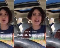 WATCH: Nutty Lib Chick Loses It Over Texas Opening Up And Mask Mandates Lifted — Is She Gonna Be Ok?