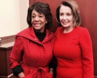 Hey Patriots: Pelosi Ran Interference For Maxine Waters …  Take Notes!
