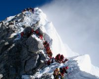 China Is Drawing A Line At The Top Of Mt. Everest To Stop The Spread Of COVID-19 — No, This Is Not Satire