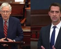 Senators McConnell And Cotton Put The Anti-Israel Left And Their Media Comrades On Full Blast (VIDEO)