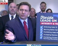 WATCH: Florida Governor Ron DeSantis Signs GOP-Backed Election Reform Bill Into Law