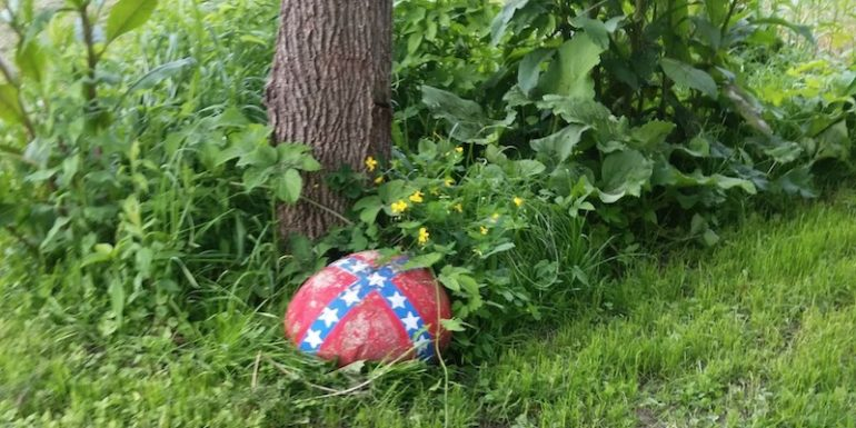Could A Confederate Flag Painted On A Rock Cost One Mom Custody Of Her Kid? ⋆ Conservative Firing Line