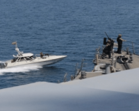 EMBOLDENED: A Dozen Iranian Ships Swarm US Vessels — More Warning Shots Fired