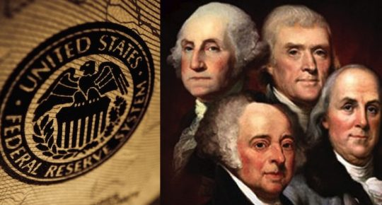 Fed Told It Can't Use Offensive Terms Like 'Founding Fathers'