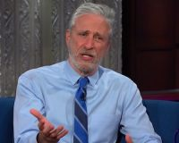 Jon Stewart Says It's Lab-Leak Theory Is 'Not A Conspiracy' — Blue-Check Scientists Pounce