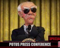LMAO: Jeff Dunham's 'President Joe Biden' Holding A Press Conference Is Comedy GOLD! (VIDEO)