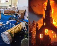 Media, Politicians Don't Care Much That 50+ Churches In Canada Have Been Vandalized Or Set On Fire Since May