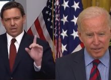 DeSantis Rips Biden, 'Get The Border Secure And Until You Do That, I Don't Want To Hear A Blip About COVID From You'