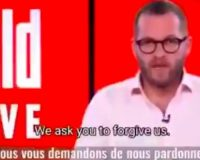 WATCH: Editor-In-Chief Of German Newspaper Apologizes For Fear-Mongering COVID Coverage
