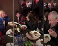 NJ's Tiny Tyrant Governor Gets Blasted By Public When Taking Family Out To Eat