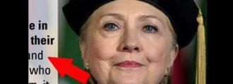 What Hillary Just Said CONFIRMS She's NUTTIER Than A Squirrel Turd