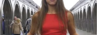WATCH: Pretty Girl Shows Her Panties In Public - ONLY A Lefty Will Understand 'Why'