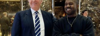 Kayne Confesses Love For Trump While Bashing Obama