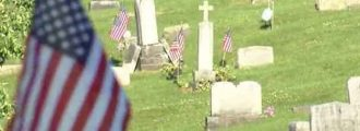 Culprits Caught Ripping Flags From Veteran's Graves - Should They Go To Jail Or The Zoo?