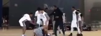Watch: Vicious Teens Attack Referee For A 'Bad Call'