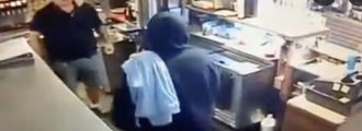 Watch: Bro Robs A Restaurant With A Boxcutter -- Gets Taken To Paintown