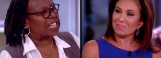 Whoopi Goldberg Goes After Judge Jeanine In F-Bomb Laced Tirade