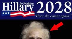 'Hillary 2028' Pic Is Funny AF