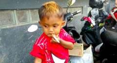 Watch: 2yr. Old Boy Smokes 40 Cigarettes A Day - Gets PO'ed If He Runs Out