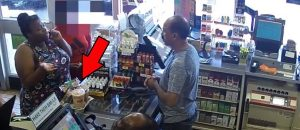 VIDEO: Watch What This Chick Does To Clerk Because She Doesn't Have Enough Money For Drinks