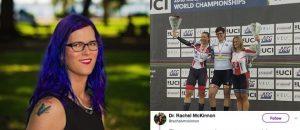 A HUGE Dude Wins Women's World Cycling Championship