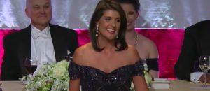 Watch Nikki Haley SCALP Elizabeth Warren During The Al Smith Dinner - It's PURE GOLD
