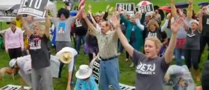 TERRIFYING: Watch Beto's Disciples Resurrect Old Ass 70's Song And Then GROUP Dance