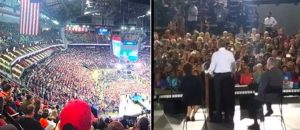 SIZE MATTERS: Look At Obama's NV 'Rally' V. Trumps TX Rally