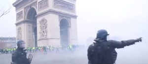 WATCH: Paris On Lockdown - Anti-Macron Protestors Are P*ssed Off