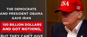 The Dems Who Gave Iran $150B For NOTHING - Won't Give Trump $5B For A Wall And Nat'l Security