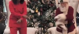 WATCH: Michelle Obama Tries To Dance In Public - She's No Ginger Rogers