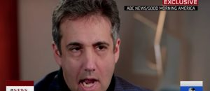 WATCH: Michael 'The Rat' Cohen Spews On Trump During ABC Interview