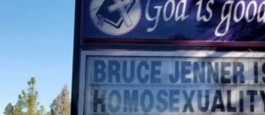 PERSECUTION: Pastor Loses Job For Posting This Sign About Homosexuality