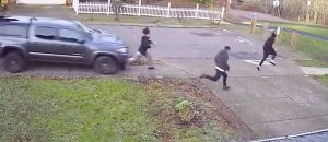 WATCH: Bro Tries To Mow Down Teens With 4X4 - Sends One Flying!