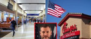 Major TX Airport BANS Chick-Fil-A For Being 'Anti-LGBTQ' - Ted Cruz Fires Back
