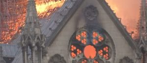 Demonic: Look Who's Cheering While The Notre Dame Cathedral Burns To The Ground