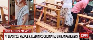 BREAKING: Muslim Terrorists Kill HUNDREDS During Church Service In Sri Lanka