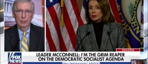 Nervous Nancy Whines About 'Grim Reaper' McConnell -- His Reply Was EPIC (Video)