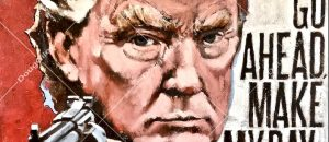 This New 'Trump As DIRTY HARRY' Painting Will Make Libs Lose It