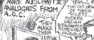 Cartoonist Steve Bowers Jackhammers AOC's Prison Camp Blather