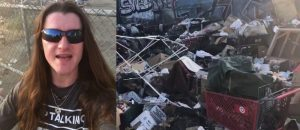 BOOM! MAGA Bro Promised To Go To L.A. To Clean Up A Filthy Homeless Camp -- PROMISE KEPT! (VIDEO)