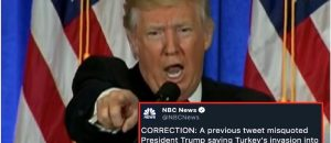 WHOOPS: Fake News NBC Apologizes For Botched POTUS Quote That Made Him Seem Uncaring
