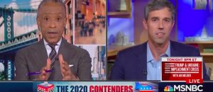 WTF? Beto Tells Sharpton That Trump Is Inspired By NAZI Propagandist, Joseph GURGLE (VIDEO)