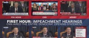 PARTISAN PRESS: Here's How TV Covered Impeachment Vs. Horowitz Report (Video)